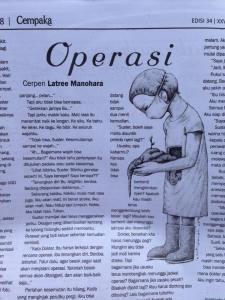 Seperti dimuat di Tabloid Cempaka edisi 14 November 2014